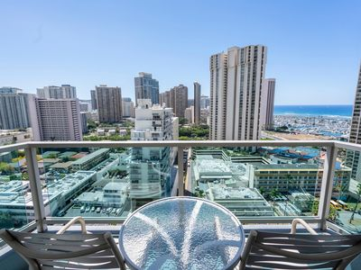 Photo for 19th Floor! Ocean View!  Ala Moana Condo  AH917