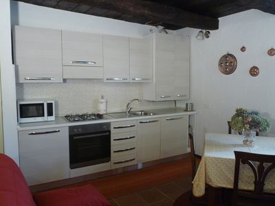 Photo for Apartment Horta in the heart of Orta San Giulio on Lake Orta with parking