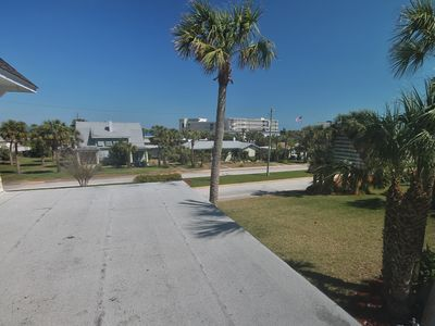 Home located just 1/2 block from Daytona Beach.  Beach access provided