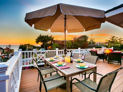 Photo for 25% OFF OCT - Charming Cottage,Ocean Views & Hot Tub, Steps to Sand