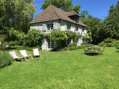 Photo for Country house, full of charm, for 13 people close to DEAUVILLE