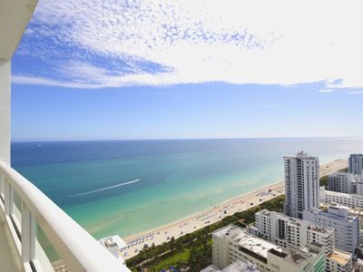 Photo for Fontainebleau Tresor 36th Floor Ocean View 1 Bbrm
