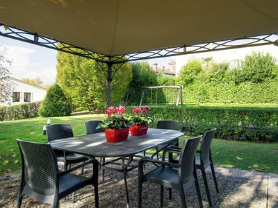 Photo for Mansion in Mason with Garden, Bicycles, Garden Furniture