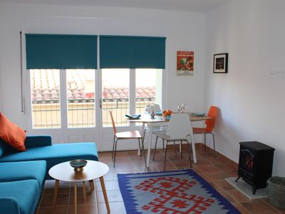 Photo for Palamos apartment historic centre, less than 2 minutes to beach