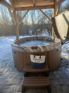 Photo for Bretton Woods White Mountain Retreat-- NEW Patio and Jacuzzi with large backyard