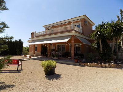 Photo for Four Bedroom, Three Bathroom Finca with private swimming pool, aircon and wifi
