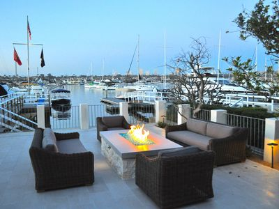 Photo for Luxurious Balboa Bayfront-Private Beach, Dock, Steps to Pier, Beach and Fun Zone