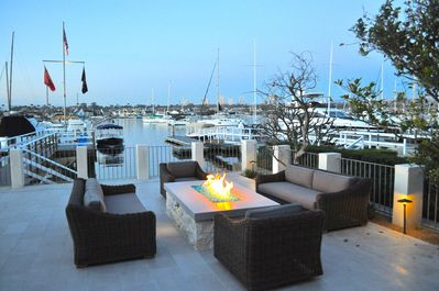 Patio view of the Bay