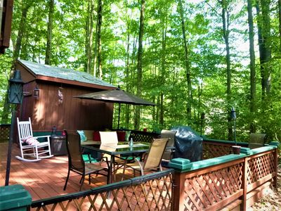 Quiet Mountain Retreat - Arrowhead Lake - Family Friendly