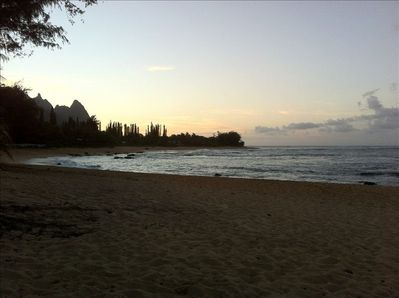 Bali Hai Sunset from the reef-protected beach - a short stroll across the road