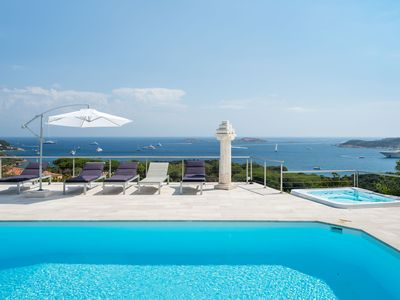 Photo for DESIGN AND COMFORT WITH A VIEW ON THE BAY OF PEVERO