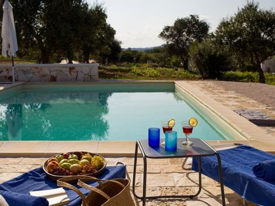 Photo for High Standard Trullo with private pool and amazing view. Great Location.
