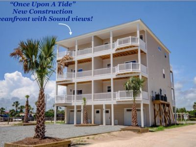 Photo for OCEANFRONT with Spectacular Sound Views. This new construction is A MUST SEE!