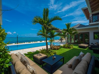 Photo for 5TH NIGHT FREE - 4-Bedroom Secluded Balinese Custom Home with Private Theatre