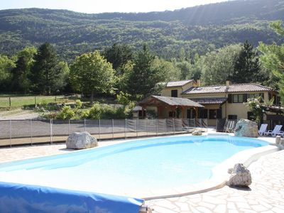 Photo for Spacious, quietly located mansion with private swimming pool near the town of Luc-en-Diois