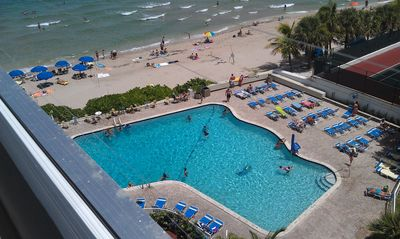 Photo for Ocean Manor 2 Bedroom 2 Bath; Amazing View From Beautiful Open Balcony!