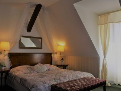 Photo for Deluxe Double Room - Pension Jagdschloss Spiegelsberge