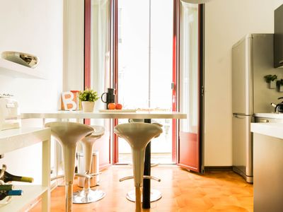 Photo for MA08A– beautiful apartment with terrace in Porta Nuova