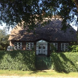 Photo for Fantastic thatched roof house in a single location between Flensburg Fjord and Schlei