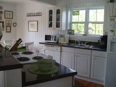 Stove, oven, dishwasher, refrigerator and full size washer/dryer