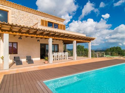 Photo for Spectacular Country House with Infinity Pool, Garden, Balcony, Terraces & Wi-Fi; Parking Available, Pets Allowed