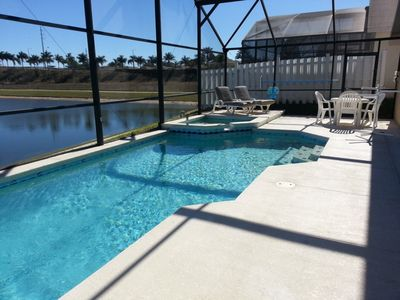 Photo for Spacious Villa with Private Pool, Just 4 Miles from Disney!