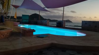 Photo for Great vacation destination on the beach with a pool