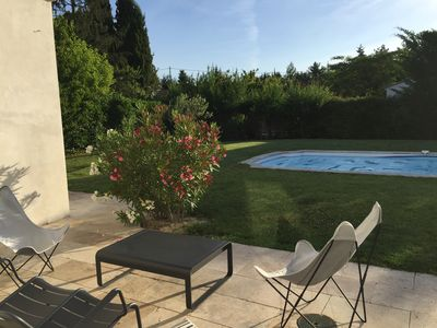 Photo for House full feet, charm, calm, swimming pool in Aix en Provence - Puyricard