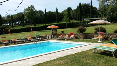 Photo for Private Property with  pool, A/C, WIFI,  TV, patio, Anghiari