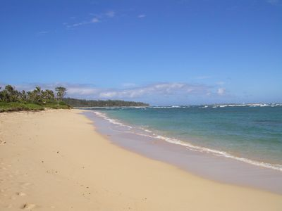 Photo for North Shore Retreat - Literally Stay On The Beach!