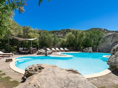 Photo for Sardinian Style Studio Apartment with Garden, Pool, Terrace and Wi-Fi
