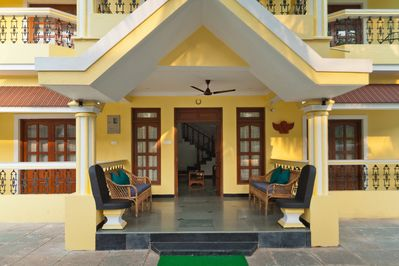 6bhk Villa with shared pool in Calangute- phase 2 (Villa Calanguteblends architecture and design)