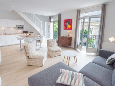 Photo for Charming duplex with a park view