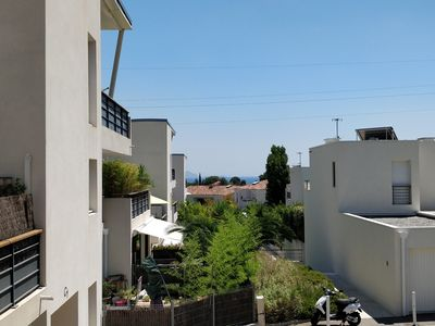 Photo for Luxury apartment in quiet residence with swimming pool at 3. 5 Kms from the beaches