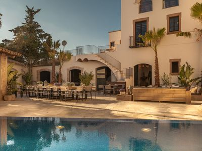 Photo for Luxury two villa estate for up to 60 guests, near the beach!