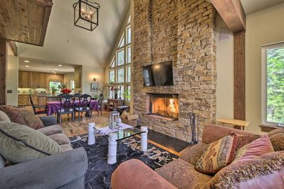 Curl up by the fireplace and enjoy the area's finest.