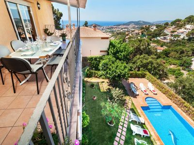 Photo for Vacation home Adelaida in Lloret de Mar - 15 persons, 8 bedrooms