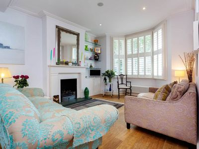 Photo for Delightful 3 bedroom home in Fulham, 2 minutes to the tube (Veeve)