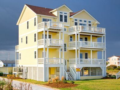 Photo for Enjoy Relaxing Ocean Views-Mins from Beach w/Pool, Elevator, HotTub, DogFriendly