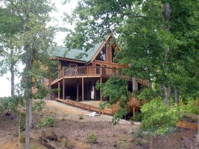 Photo for LAKEFRONT HOME W/ PRIVATE DOCK, HOT TUB, CANOE & PADDLE BOARDS!!