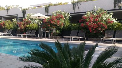 Photo for Residence 4 * Apartment 2 to 4 people - Heated swimming pool, tennis, pétanque.