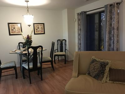 Dining room/living area