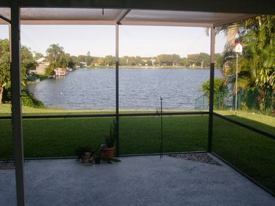 Photo for lake front house un pemroke pines florida