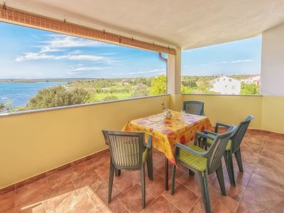 Photo for Sun&Sea Apartments A4(4+2) oversees Medulin bay for a relaxing vacation