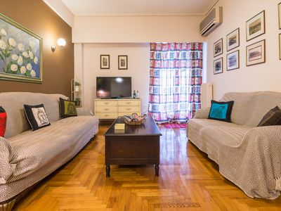Photo for Comfortable Central Athens Flat