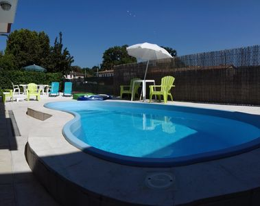 Photo for A villa with two apartments and a pool near Venice