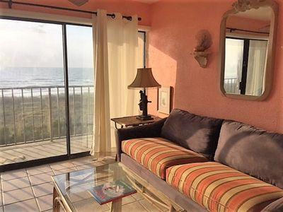 Photo for Come SEA Our Difference... Oceanfront Condo in Downtown Carolina Beach with Elevator, Pool and Beach Access