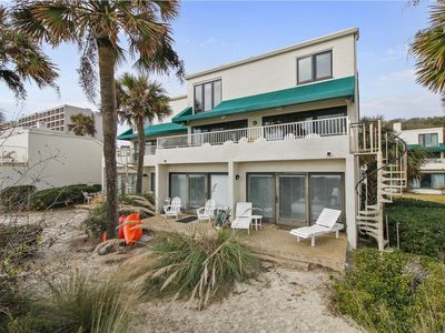 Photo for Charming Oceanfront Condo in Palmetto Dunes w/ Community Pool! Amazing Views!