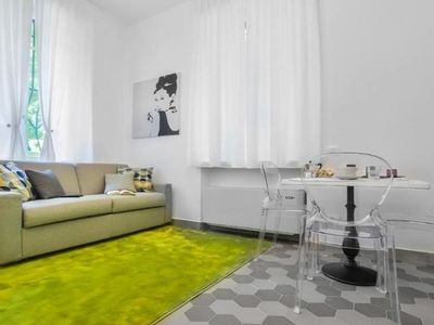 Photo for Modern Duomo apartment in Porta Garibaldi with WiFi & air conditioning.