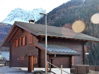"""Photo for Outside : spacious chalet for 10 person, situated in """"vieux village"""" road,Inside : around 140 sqm, h"""